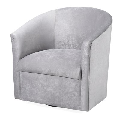 Barrel Swivel Accent Chairs You Ll Love Wayfair