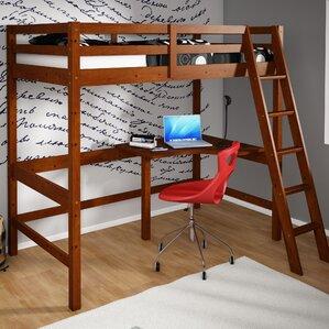Bunk Beds & Loft Beds with Desks | Wayfair