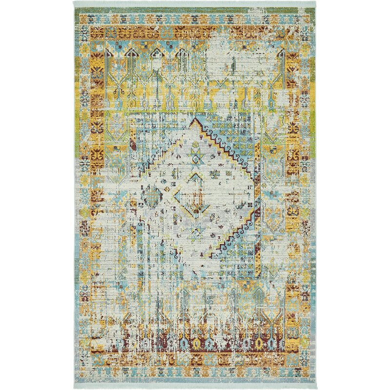 Lonerock Light Blue Area Rug