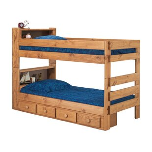 Bunk Bed With Shelves Wayfair