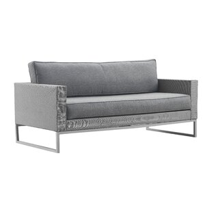 Modern & Contemporary Patio Sectional Outdoor Couch | AllModern