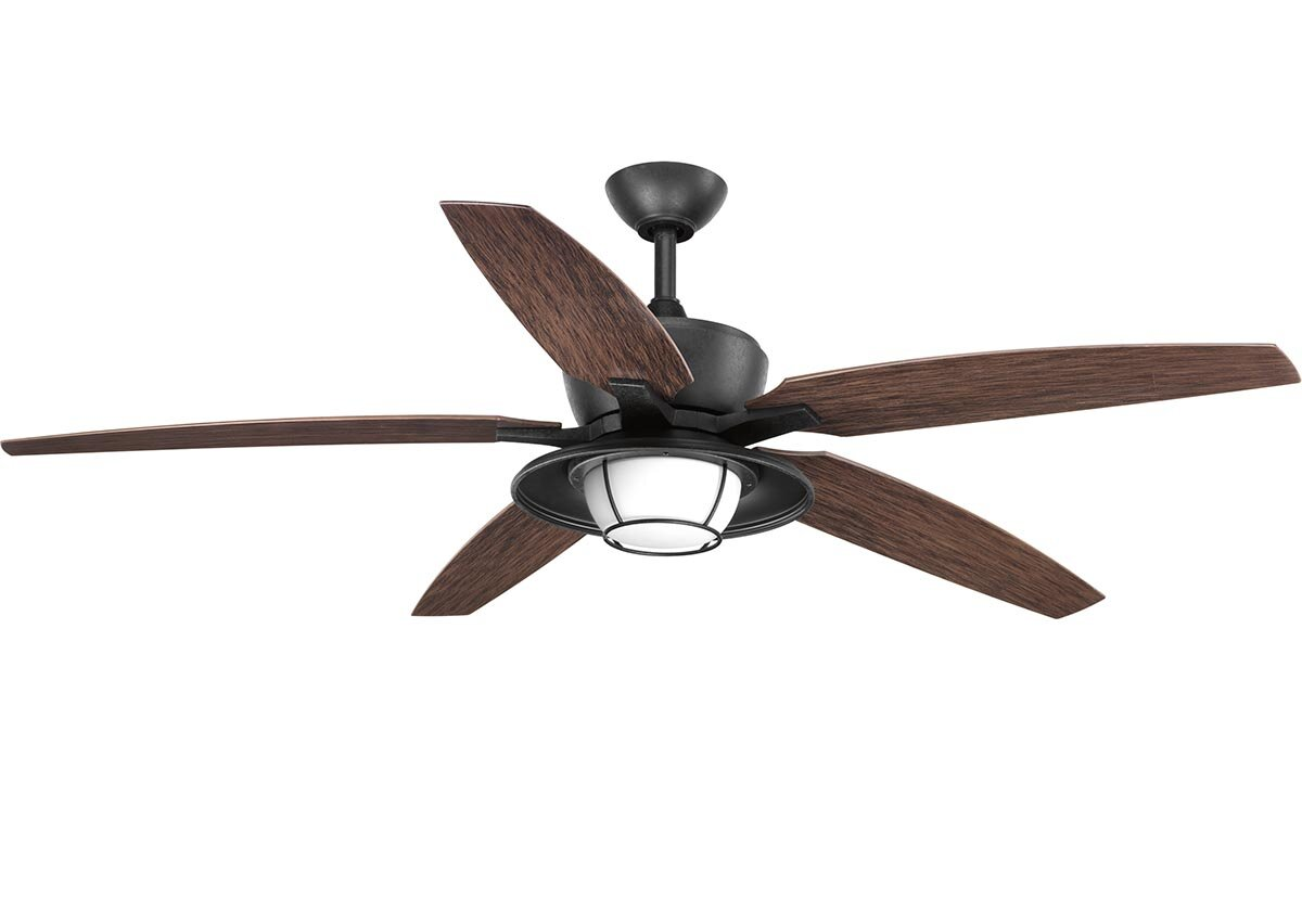 Astonishing Milmont 5 Blade Outdoor Led Ceiling Fan With Remote Download Free Architecture Designs Scobabritishbridgeorg