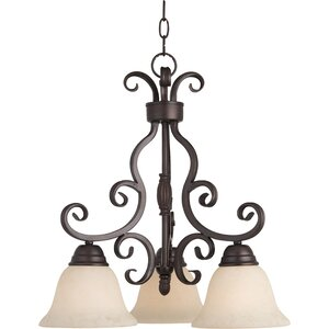 Amelia 3-Light Shaded Chandelier