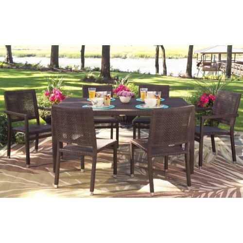 All-Weather 7 Piece Dining Set