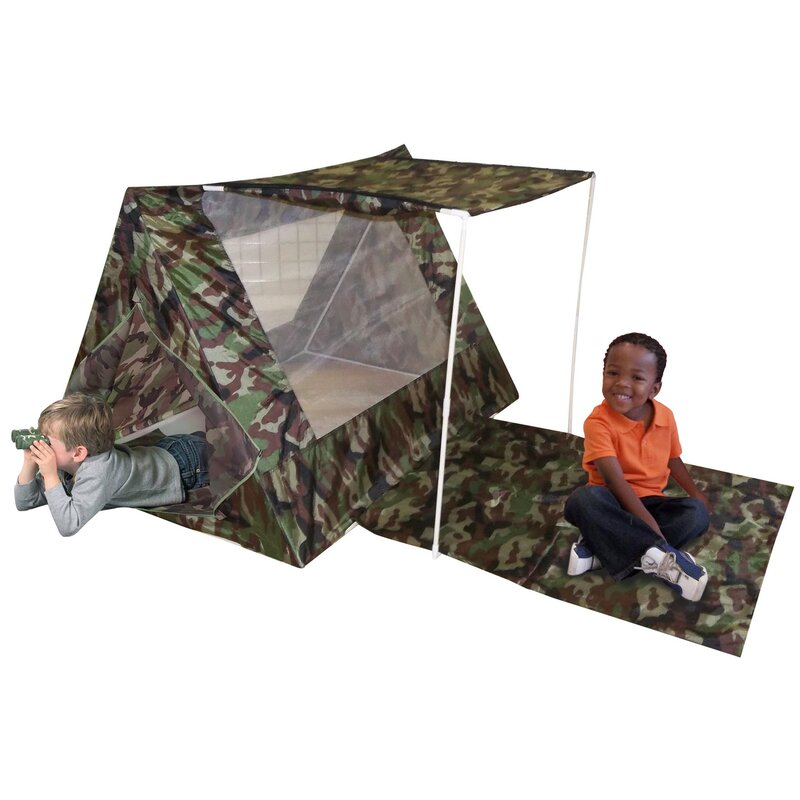 Kid's Adventure Camo Fort Play Tent Set & Reviews