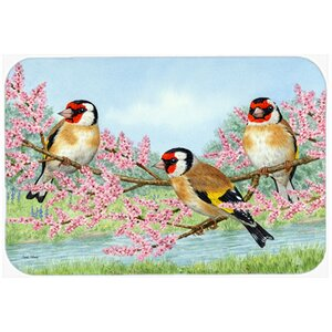 European Goldfinch Kitchen/Bath Mat