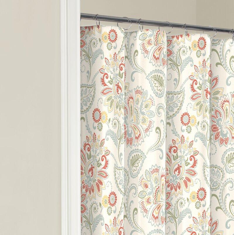 Fieldon Cotton Shower Curtain & Reviews | Birch Lane