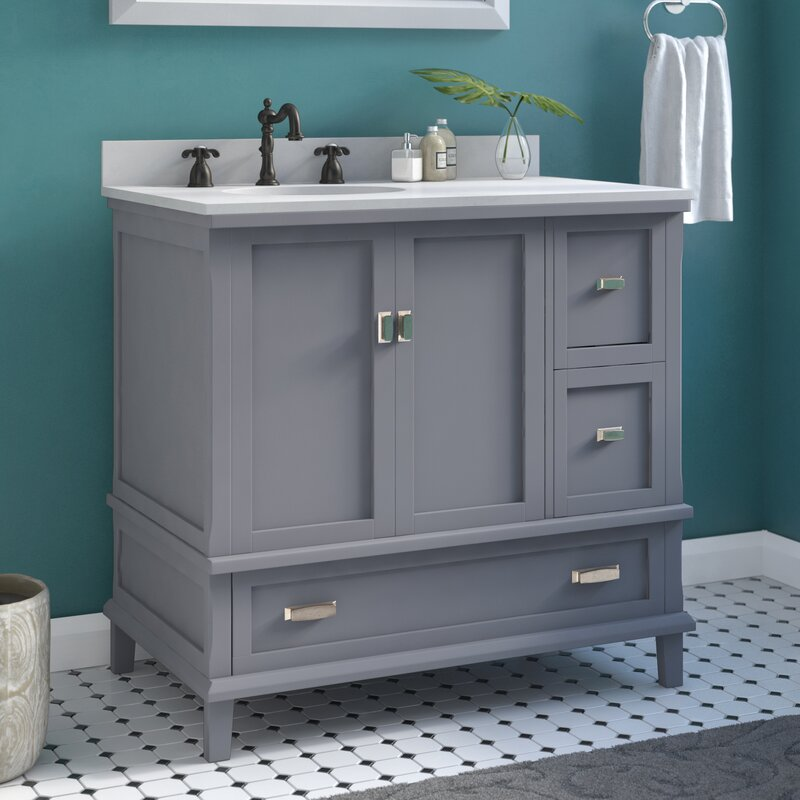 Red Barrel Studio Ka 36 Quot Single Bathroom Vanity Set