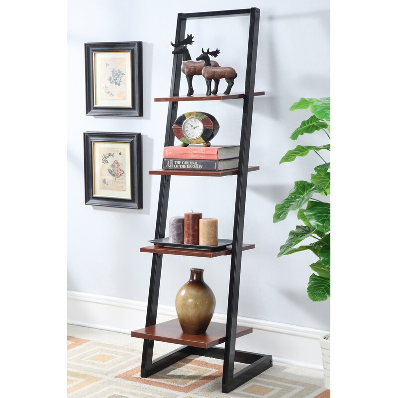 Zipcode Design Edwin Leaning Ladder Bookcase & Reviews | Wayfair