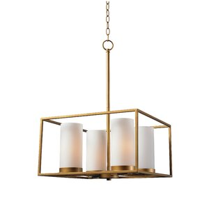 Branner 4-Light Candle-Style Chandelier