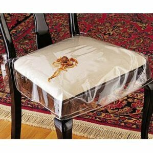 Vinyl Chair Protector Slipcover Set Of 2