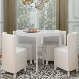Vogue Dining Set With 4 Chairs