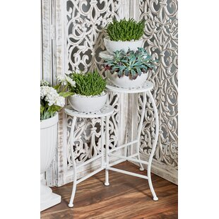 Chino Hills Modern Pierced Top Design Folding Plant Stand