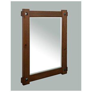 rustic bath mirror   wayfair