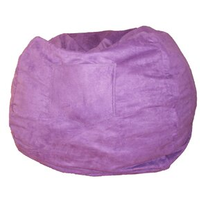 Micro Suede Personalized Chair Bean Bag