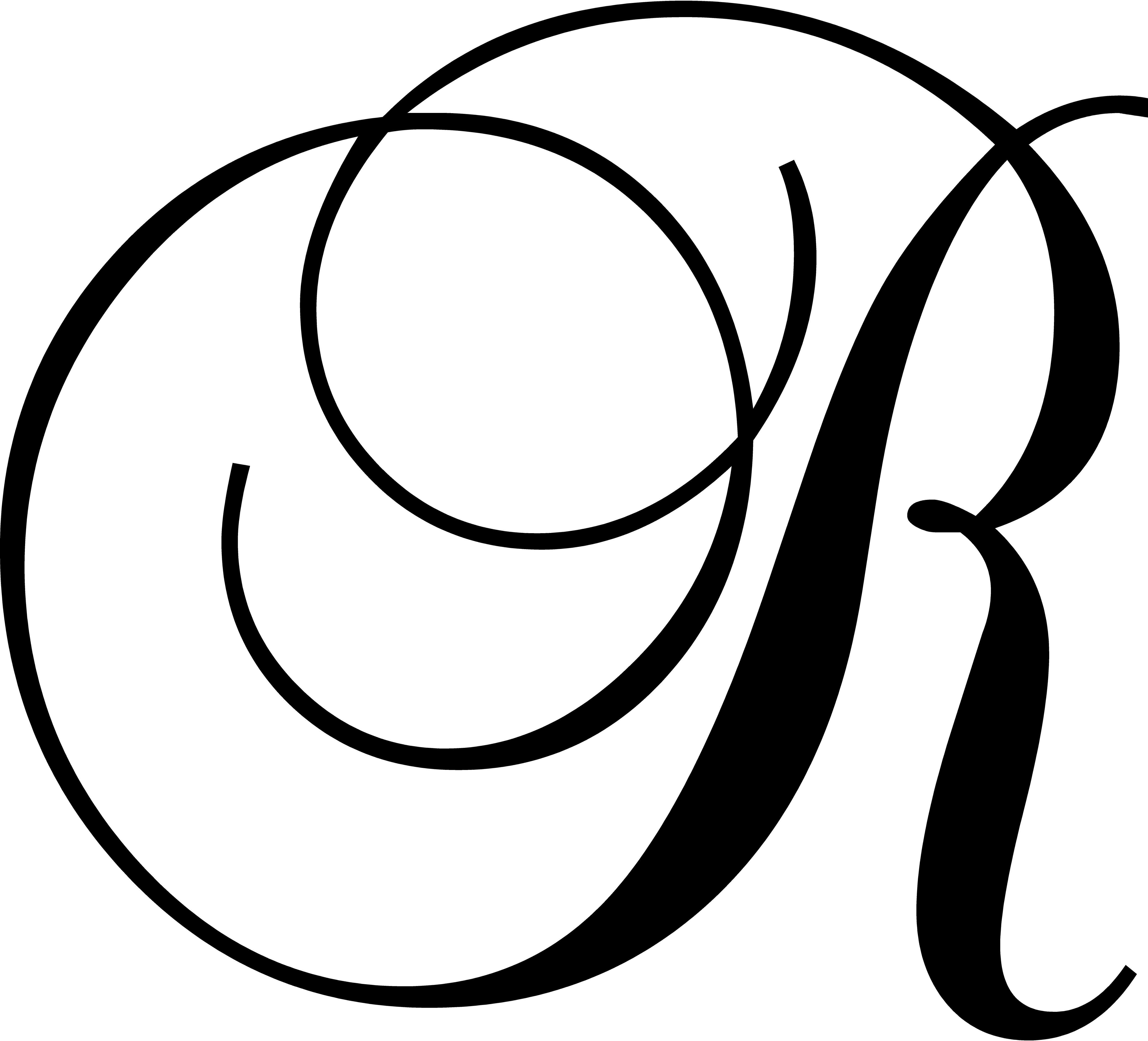enchantingly elegant letter r wall decal reviews wayfair