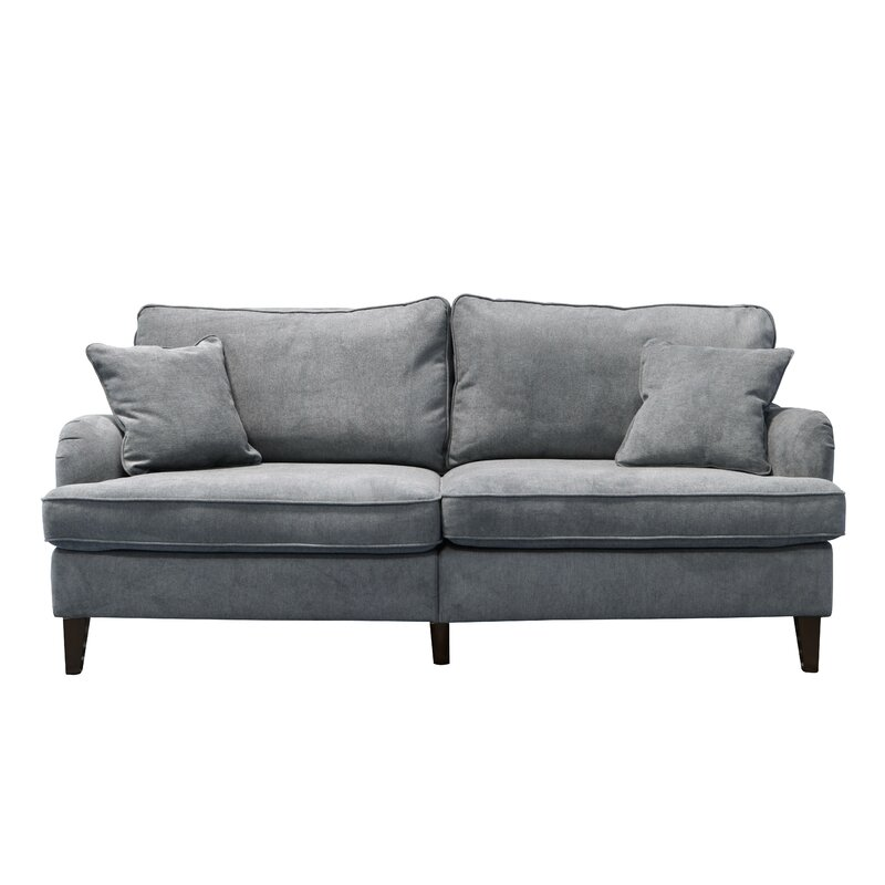 Carlisle 78 Sofa With Pleated Arms