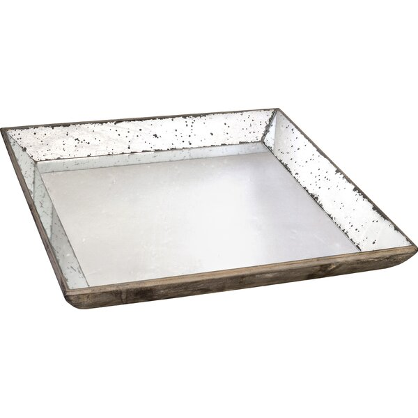 Famous Mercury Glass Tray | Wayfair YH05
