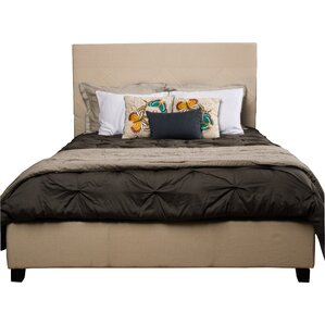 Robinette Upholstered Panel Bed by Darby Home Co