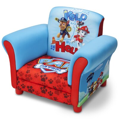 Nick Jr. Paw Patrol Upholstered Kids Chair
