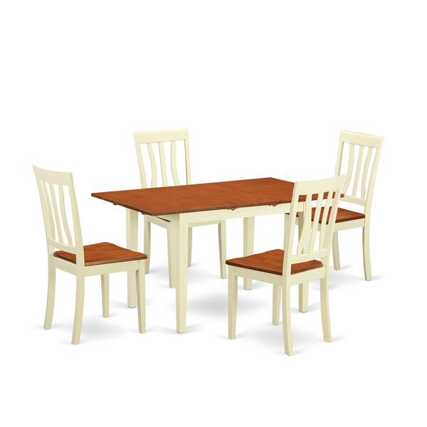 Wooden Importers Norfolk 5 Piece Dining Set & Reviews