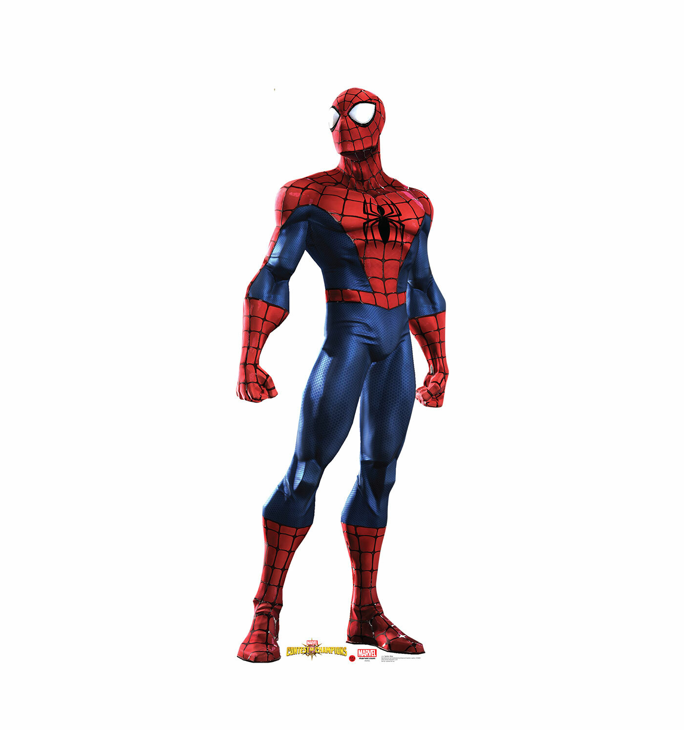 advanced graphics marvel contest of champions spider man life size