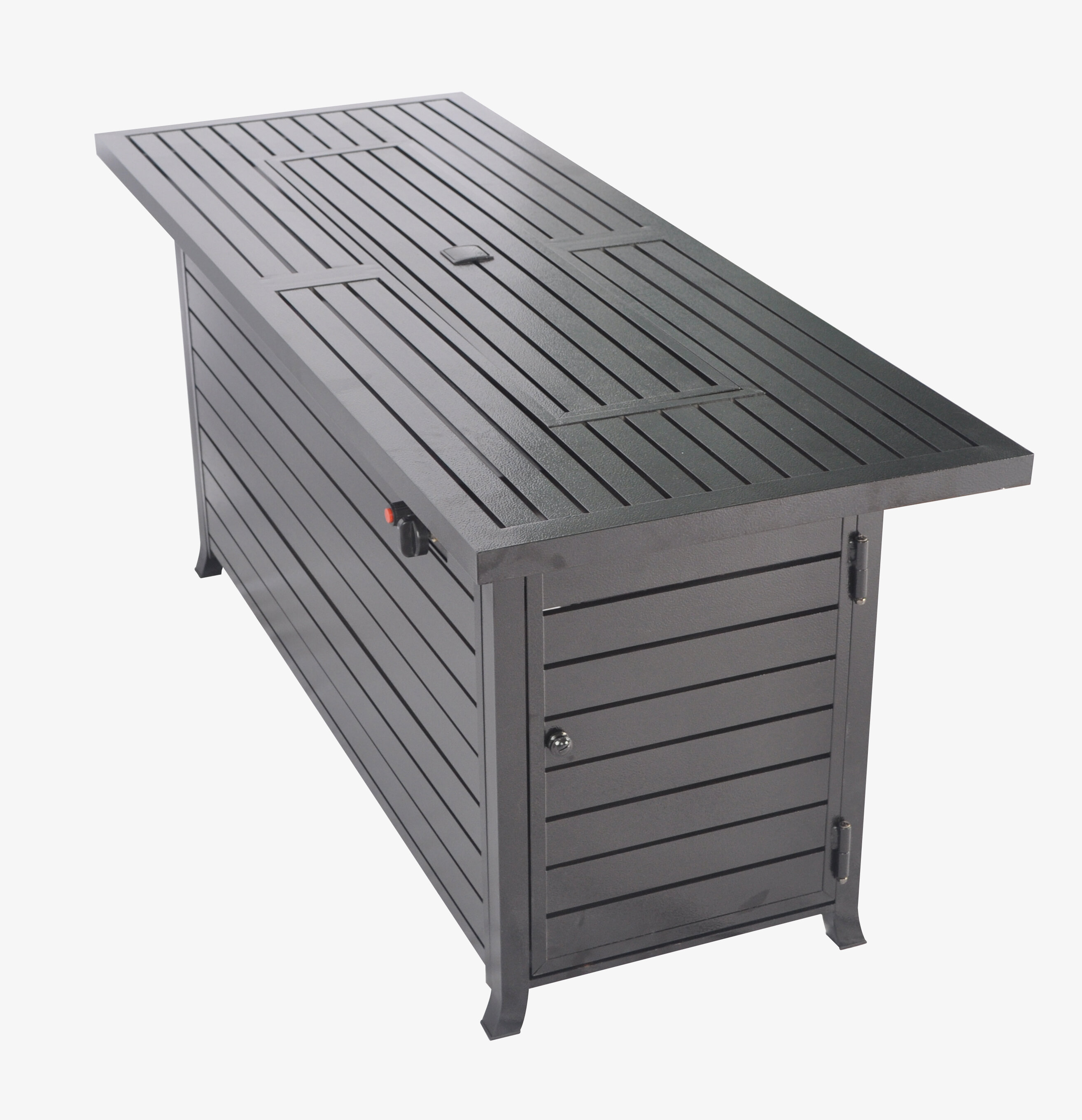 Bar Height Fire Pit Table