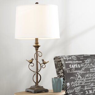 French country table lamps youll love wayfair anjou 28 table lamp set of 2 mozeypictures Images