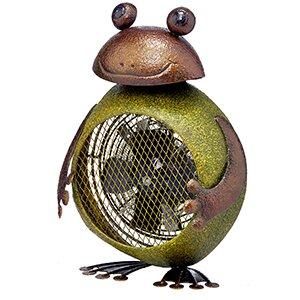 Frog Figurine Heater Table Fan