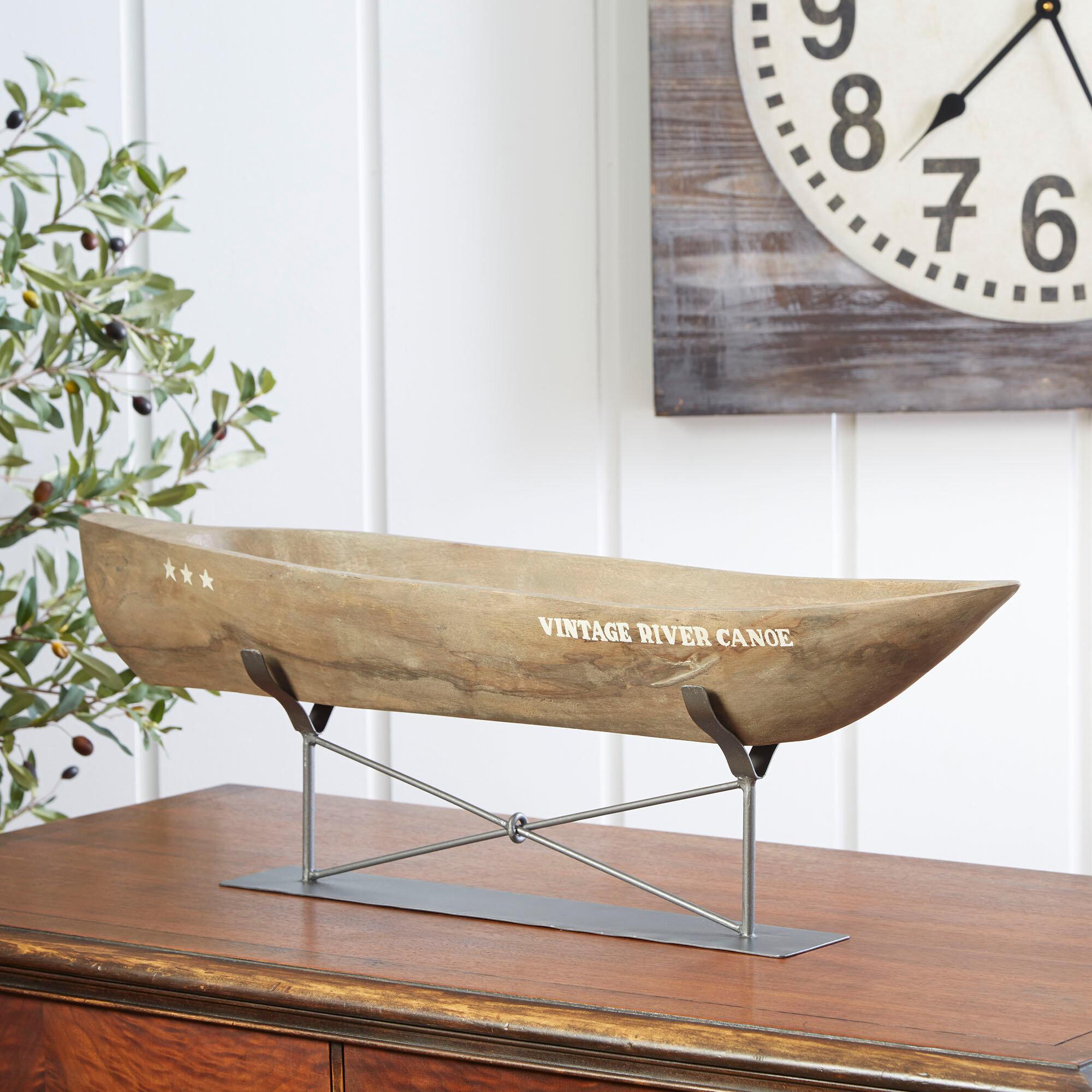 Birch Lane™ Navarre Canoe Decor U0026 Reviews   Wayfair