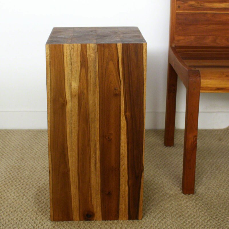 Attrayant Lawless Block End Table