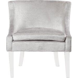 Henriques Velvet Barrel Chair by Willa Arlo ..