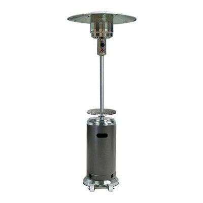 Sol 72 Outdoor Barnhart Tall 48,000 BTU Propane Patio Heater Finish: Hammered Silver and Stainless Steel