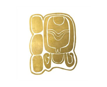 Chelsea Art Studio Mayan Glyphs X Graphic Art Print