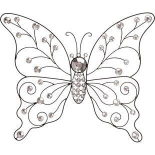 Metal Butterfly Wall Décor