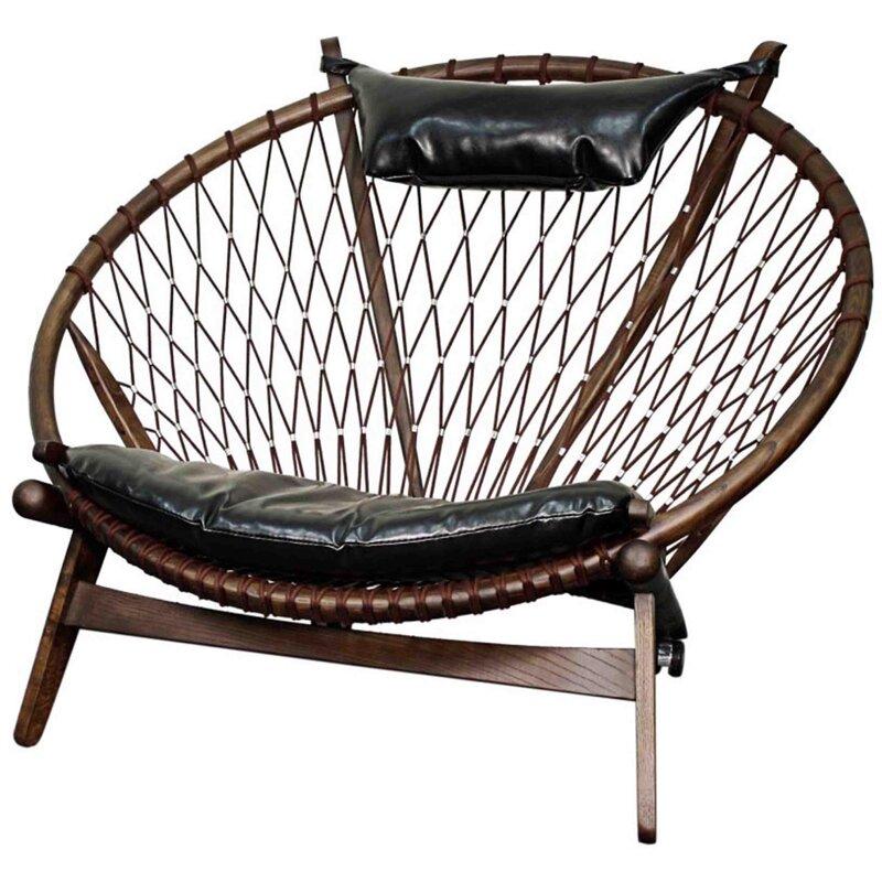 Branchdale Bonded Leather Papasan Chair