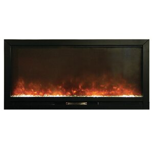 Beautifier Built In Wall Mount Electric Fireplace by Y Decor