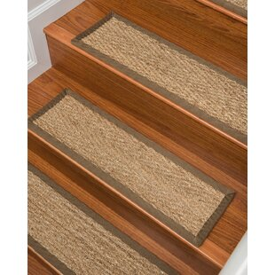 Exceptionnel Beach Seagrass Carpet Beige Stair Tread (Set Of 13)