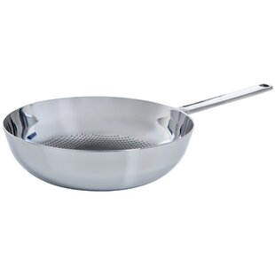 Conical DeLuxe 30cm 3-Ply Wok by BK Cookware