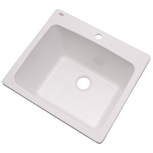 Wakefield 25″ x 22″ Single Laundry and Utility Sink
