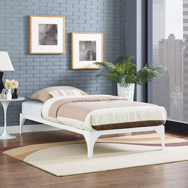 Modway Ollie Twin Bed Frame In Green