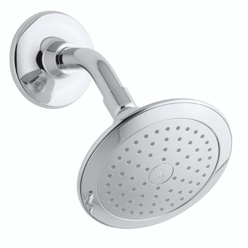 Kohler Alteo 2.5 GPM Single-Function Wall-Mount Shower Head with ...