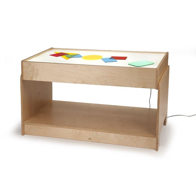 Captivating Big Big Light Table Kids Rectangular Arts And Crafts Table