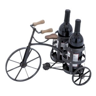 Urban 2 Bottle Tabletop Wine Bottle Rack