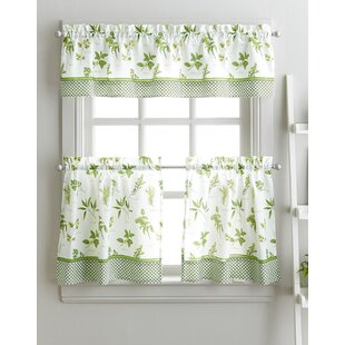 cherelle herb graden kitchen curtains - Kitchen Curtain