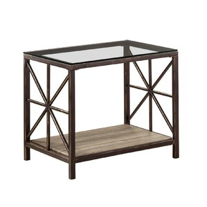 Washburn Weathered Grey End Table