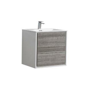 Modern Contemporary 24 Inch Vanity With Sink Allmodern