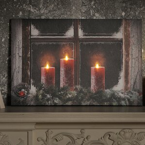 Image result for fireplace window kitty snowman pics night