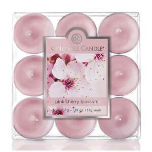 Pink Cherry Blossom Scent Tea Light