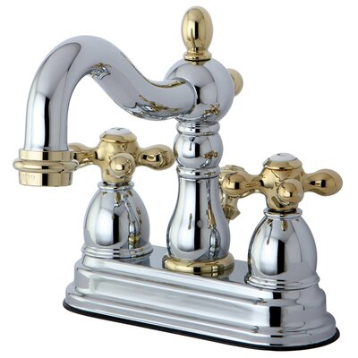 Elements of Design Heritage Centerset Bathroom Faucet with Double ...
